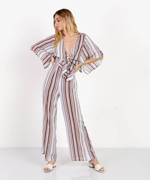c70ed88cf6d Faithfull the Brand Tilos Jumpsuit Franklin Stripe FF964-FSP - Free  Shipping at Largo Drive