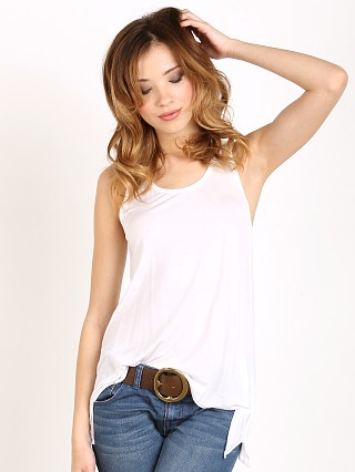 Joah Brown Perfect Shape Tank White