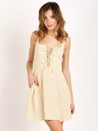 Flynn Skye Leila Lace Up Mini Sunny Delight