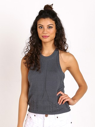 One Teaspoon Sorrento Knit Tank Slate