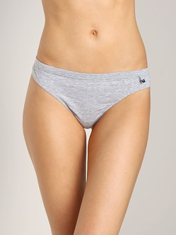 Emporio Armani Women Brazilian Brief Grey