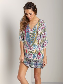 Tolani Madison Tunic Cream