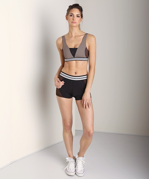 Olympia Activewear Xena Hot Short Black/Brown