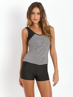 Olympia Activewear Siren Jumper Stripe/Black