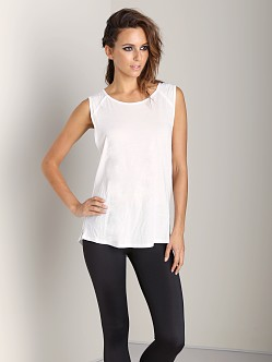 Olympia Activewear Roman Muscle Tank White
