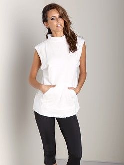 Olympia Activewear Nemea Sweater White