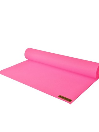 Complete the look: JadeYoga Harmony Mat Pink