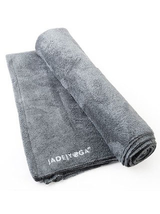 Complete the look: JadeYoga Mat Towel Grey