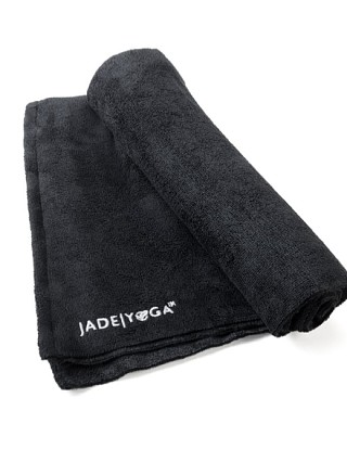 You may also like: JadeYoga Mat Towel Black
