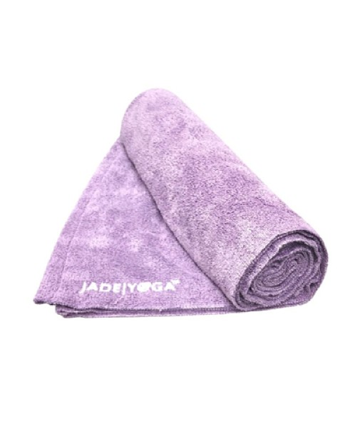 JadeYoga Mat Towel Purple