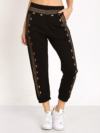 Complete the look: Spiritual Gangster Lotus Pattern Pant Vintage Black