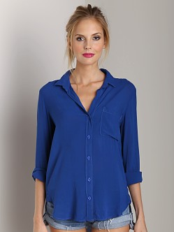 Bella Dahl Shirt Tail Button Shirt Coastal