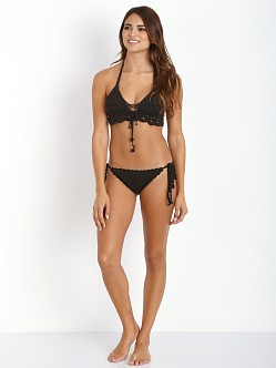 Lisa Maree Down to the Wire Bikini Set Black