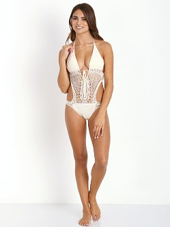 Lisa Maree Down the Garden Path Monokini Whiskey
