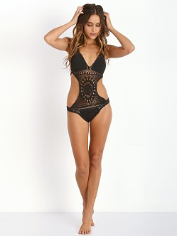 Lisa Maree The Turning Monokini Black