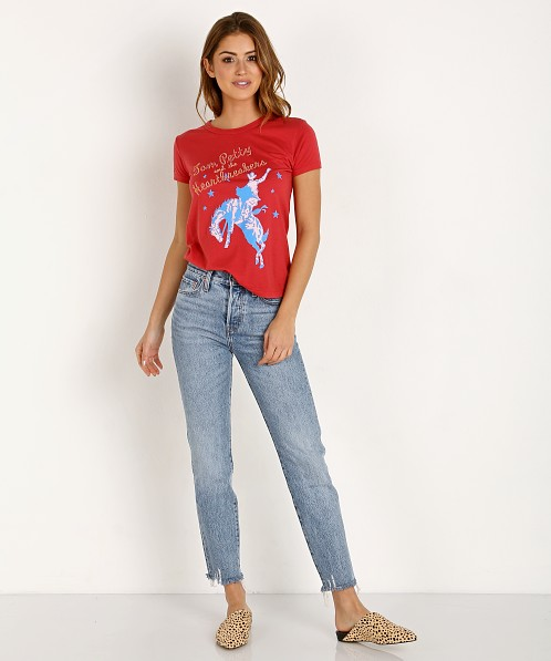 Daydreamer Tom Petty Our West Tee Red