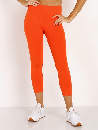 Model in flame Olympia Activewear Mateo 3/4