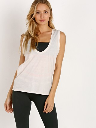 Model in bone Olympia Activewear Marfa Tank