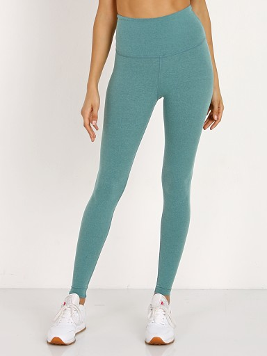 Beyond Yoga Plush High Waisted Long Legging Brushed Jade Heather