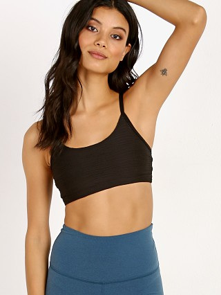 Beyond Yoga Intertwined Strappy Bra Black