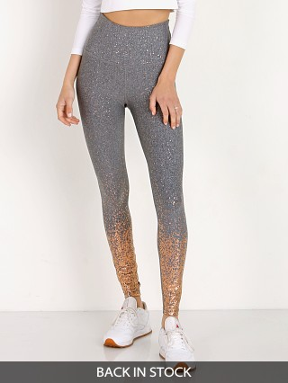 Beyond Yoga Alloy Ombre Sparkle High Waisted Midi Legging