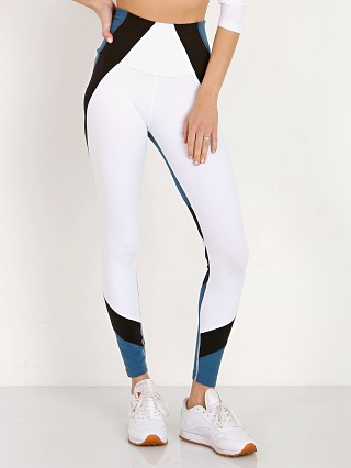 Beyond Yoga Around the Colorblock High Waisted Legging White