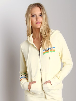 Day By Day Zip Up Hoodie Cream