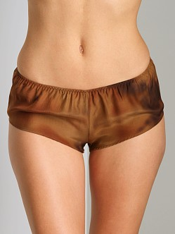 La Fee Verte Boyshort Brown