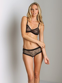 La Fee Verte Lace Panty Black