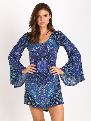 Spell Kiss the Sky Bell Sleeve Mini Bluejay