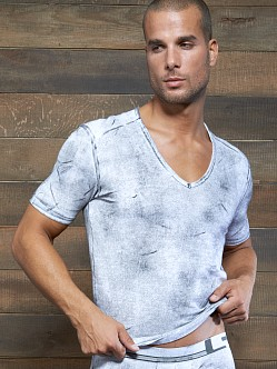 C-IN2 Filthy V-Neck Shirt White