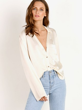 LACAUSA Vanilla Blouse