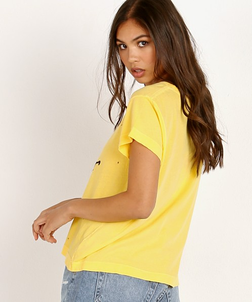 WILDFOX Pinhole No. 9 T Cowboys Pigment Yellow Mango