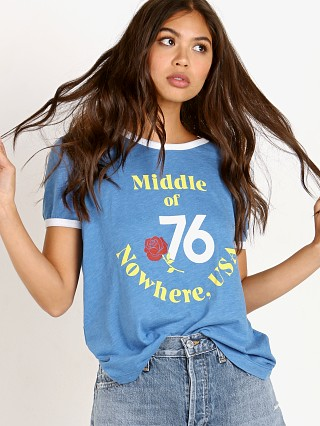 WILDFOX Johnny Ringer T Nowhere Blue Coast