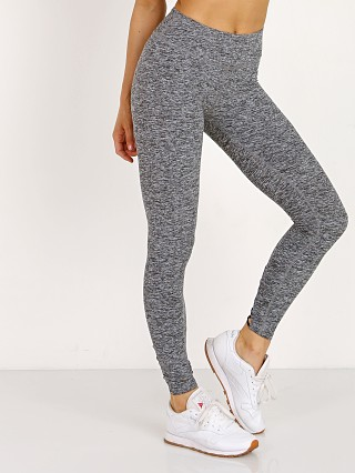 Beyond Yoga Cross It Back Midi Legging Black White