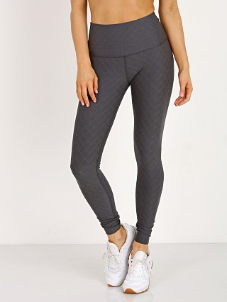 Beyond Yoga Quilt High Waist Long Legging Gray & Stormy