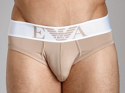 Emporio Armani Basic Stretch Microfiber Brief Skin