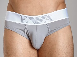 Emporio Armani Basic Stretch Microfiber Brief Mastic