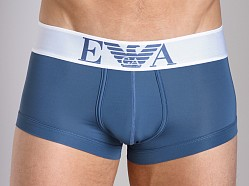 Emporio Armani Basic Stretch Microfiber Trunk Smokey Blue