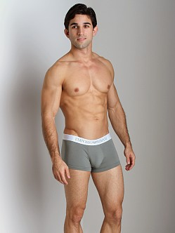Emporio Armani Basic Stretch Cotton Trunk Sage