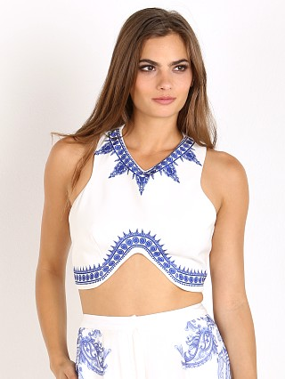 You may also like: The Jetset Diaries Ruffian Crop Top White/Majorelle