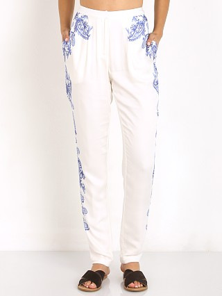The Jetset Diaries Ruffian Pants White/Majorelle