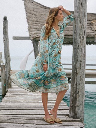 You may also like: Spell & The Gypsy Seashell Boho Dress Seafoam