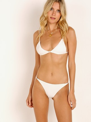 Acacia Railay Crochet Bikini Top White
