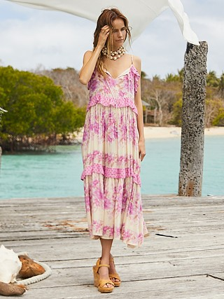 You may also like: Spell & The Gypsy Coco Lei Strappy Gown Lilac