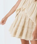 Spell & The Gypsy Hanalei Mini Skirt Sand, view 4