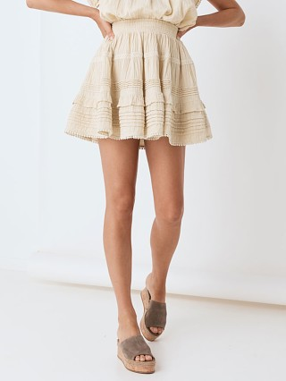 Complete the look: Spell & The Gypsy Hanalei Mini Skirt Sand