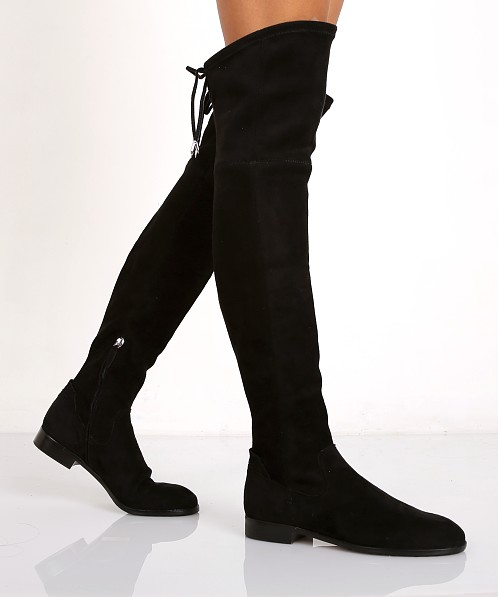 d7b976a8b03 Dolce Vita Neely Over the Knee Boot Black 110881 - Free Shipping at Largo  Drive