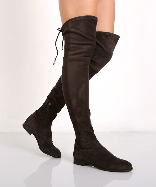 5761da43f8f Dolce Vita Neely Over the Knee Boot Dark Grey 110881 - Free Shipping at  Largo Drive