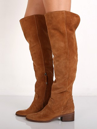 Dolce Vita Kitt Over the Knee Boot Dark Saddle